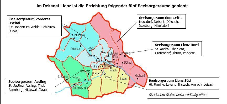 Seelsorgeräume in Lienz