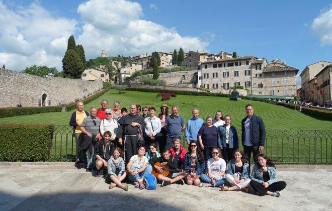 Fahrt nach Assisi