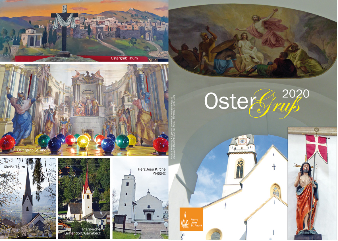 Ostergruß 2020 Pfarre Lienz St. Andrä