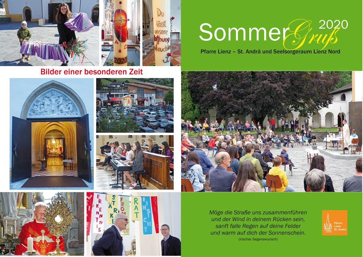 Sommergruss 2020 Pfarre Lienz St.Andrä